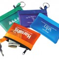 Coin and Key Zip Purse