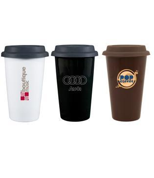 Coffee Shop Double Wall Tumbler Mugs Cups