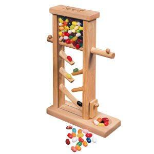 Executive Wooden Jelly Bean Dispenser Promotional