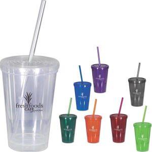 Starbuster   16 oz BPA Free Beverage Tumbler