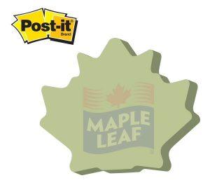 Maple Leaf / Tree Leaf Die Cut Post It Note Pads