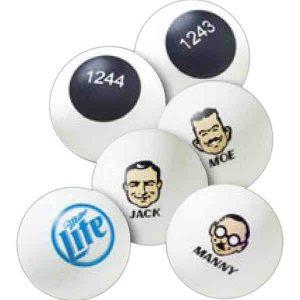 Custom Printed Bulk Ping Pong Ball