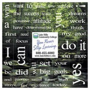 Motivational Words Magnet Set