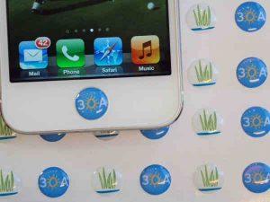 iDot   iPhone / iPad Button Cover / Skin