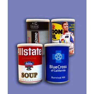 Pistachio Filled Custom Can