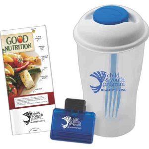 Nutrition Combo Pack w/ Slider Guide, Bag Clip & Salad Shaker