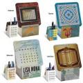 Coaster Set Calendar