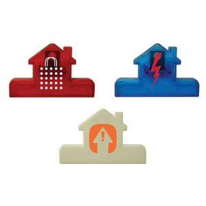 House Shaped Plastic Chip / Kitchen Clip
