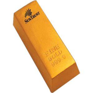 Gold Bullion and Silver Bar Shaped Items
