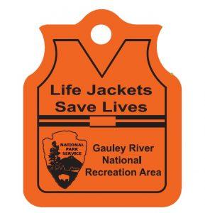 Coated Floating Life Jacket Key Chain