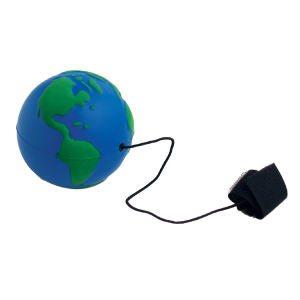 Planet Earth / Globe Shaped Bungie / Elastic Toy
