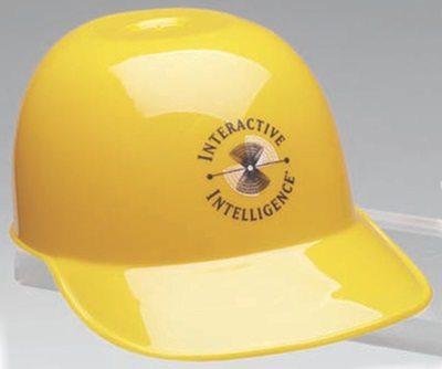 Baseball Batter's Helmet Shaped Plastic Bowl