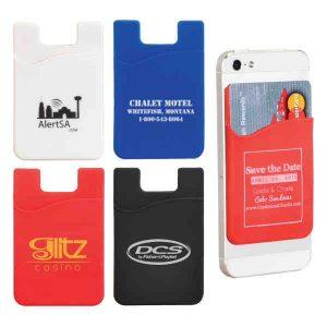 Silicone Smartphone Wallet #CA401