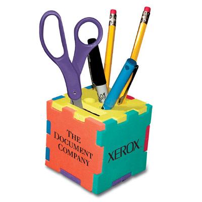 Foam Puzzle Cube Pencil Holder Promotional Product Ideas