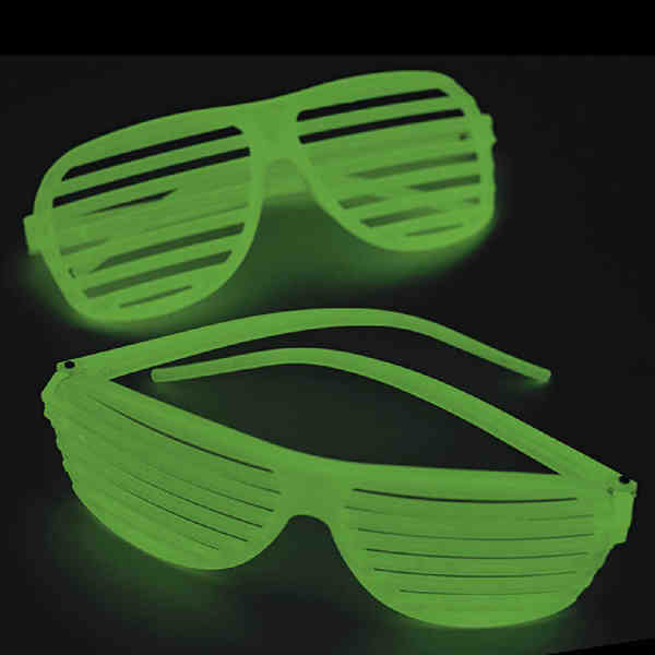 Glow In The Dark Shutter Glasses Promotional Product