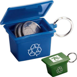 Miniature Recycling and Trash Containers | Promotional