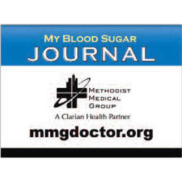 Blood Sugar Record Keeping Journal Promotional Product