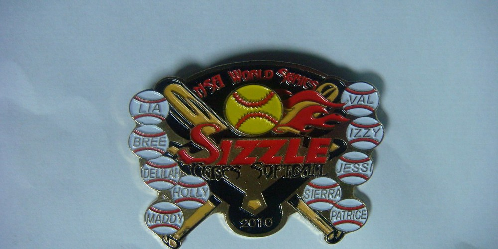 Custom Softball And Baseball Trading Pins Promotional