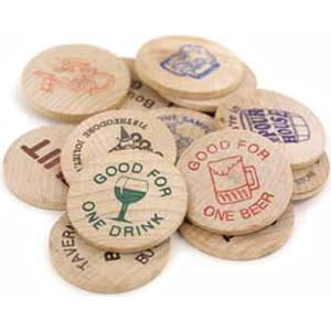 Custom Printed Wooden Nickels Promotional Product Ideas By