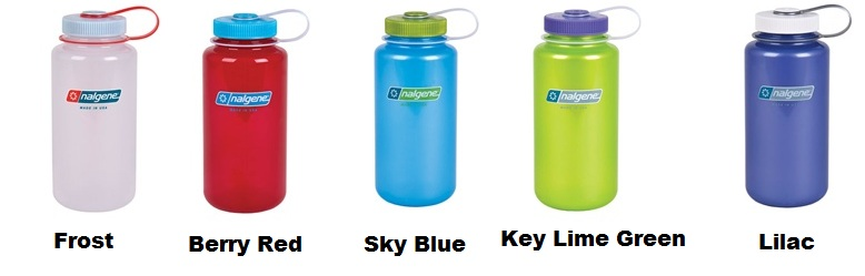 5be633619 New Nalgene Colors! Translucent Nalgene Water Bottles | Promotional ...