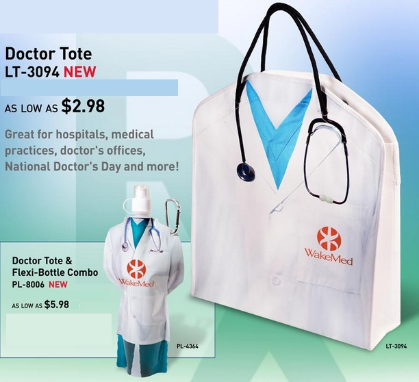 New Doctor Theme Tote Bag