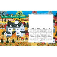 Thanksgiving Magnetic Calender Card