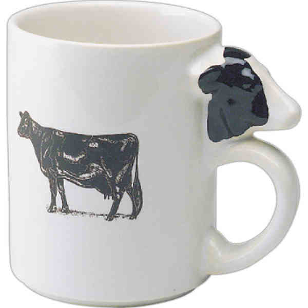 Unique animal handle ceramic mugs promotional products blog for Animal shaped mugs