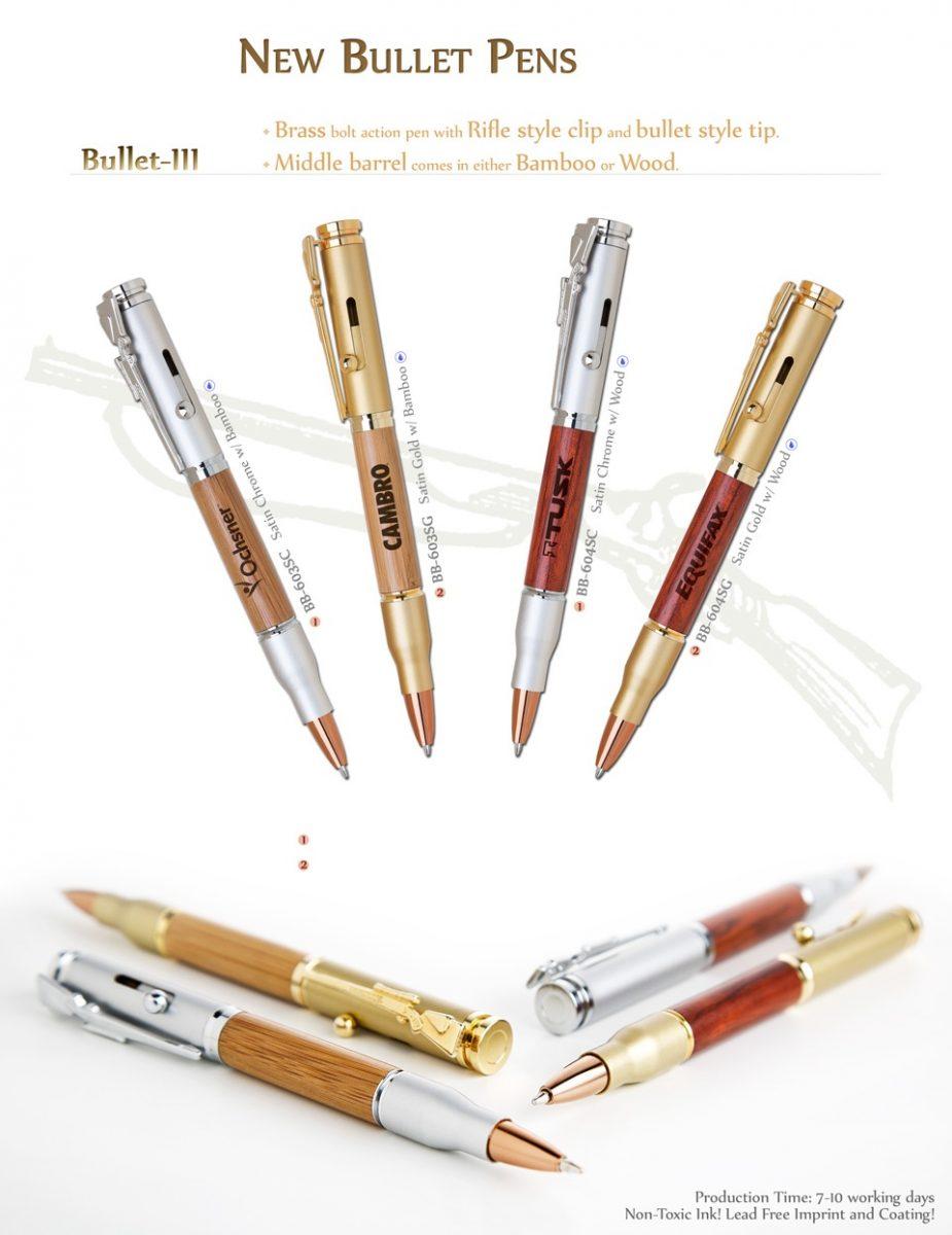 Rifle Gun Bullet Shaped Pens Promotional Product Ideas