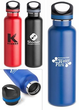 double wall vacuum insulated bottles similar to hydro flask brand