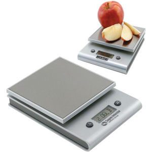 Square Kitchen Food Scale with Digital Readings