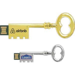 ornate old style key design thumb drives