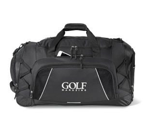 Pro Duffel Bag with Handle and Strap - Black
