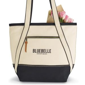 Fashionable Tote Bag - Black