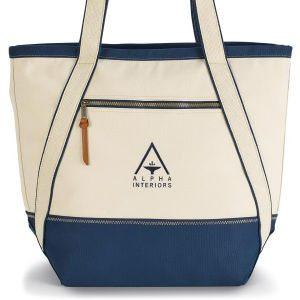 Fashionable Tote Bag - Blue
