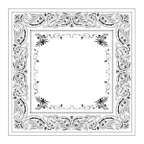 bandana stock artwork huge assortment of designs borders and
