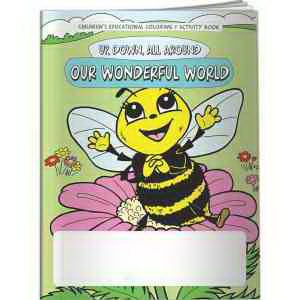 Bee Themed Learning Coloring Book