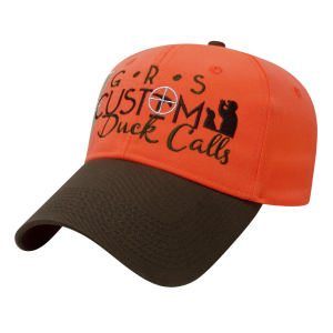 Brown and Blaze Orange Cap (Ducks and Geese)