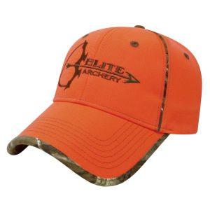 NEW PHEASANT HUNTING BORN TO HUNT ORANGE CAMO CAP HAT