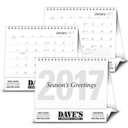 2017 promotional desk top calendars monthly daily and tent promotional products blog. Black Bedroom Furniture Sets. Home Design Ideas