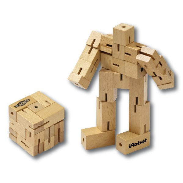 Wood Robo Cube Robot Block Puzzle Promotional Product