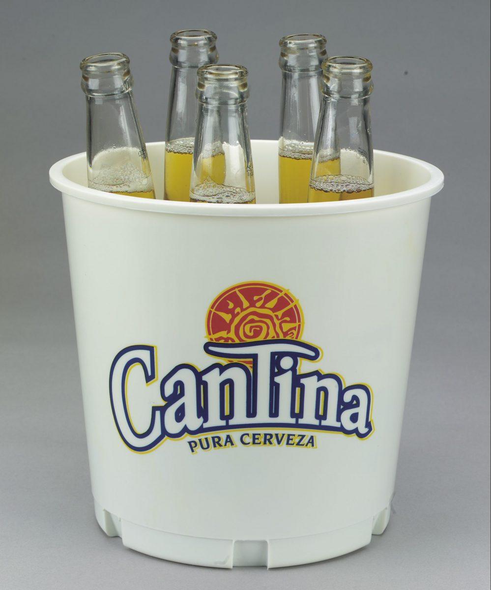 Brewtub Custom Printed 176oz Plastic Beer Bucket To Tub
