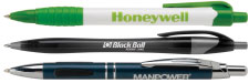 Custom printed promotional pens with imprinted personalized logo