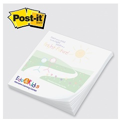 Post-it Note Pads - Adhesive Pad with custom printed logo