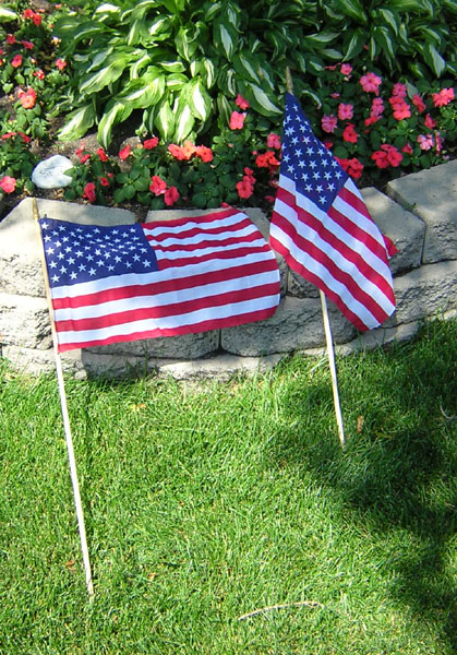 American Flag Miniatures for Independence Day, Memorial Day, Veterans Day