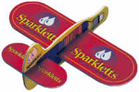 Giveaway Foam and Balsa planes with your company or business logo