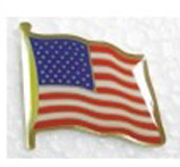 U.S. Flag Pins Large Quantity inexpesive Pins