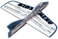Logo Jet Foam Glider / Plane