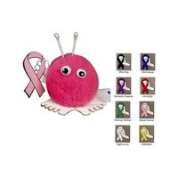 aids, hiv, awareness, weepuls,pom pom, pom pom creature, red ribbon