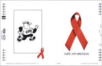 AIDS/HIV Awareness Book Cover