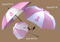 Breast Cancer Awareness Golf Bag Umbrella